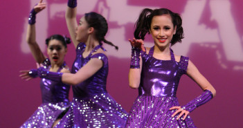 Zenia Marshall at a dance competition.
