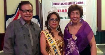 Ms. Imelda Espejo Canlas, PhilVets Queen of Valor.