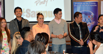 Kapuso Cast with Lizelle Maralag President and COO GMA Marketing and Productions Inc.