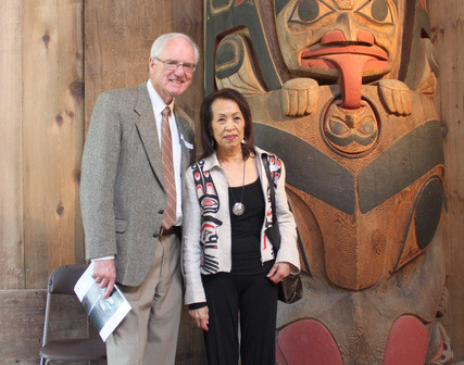 Asian Heritage Month Society President Ken McAteer and Vice-President Bev Nann graced the event.  Photos by Angeli Buccat