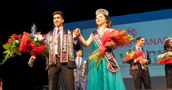 Jinder Atwal and Anastasia Lin. Photo by Diones Lago