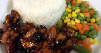 Sriracha Teriyaki Chicken