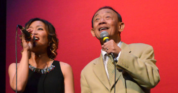 Jose Mari Chan and Krisha Relleve. Photo by Bert Morelos
