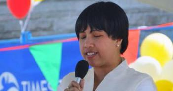 Narima Dela Cruz. Photo by Bert Morelos.