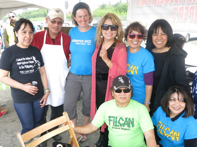 Members of the Filipino Canadian Association of Prince Rupert. Photo courtesy of Simply the Best TV Show.