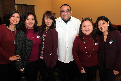 Ethnos Marketing staff Doreen Marco, Mary Anne Burog-Velayo, Bennet M. Ganata, Papa Bear Legaspi, Becky de Guzman, Gigi Astudillo.