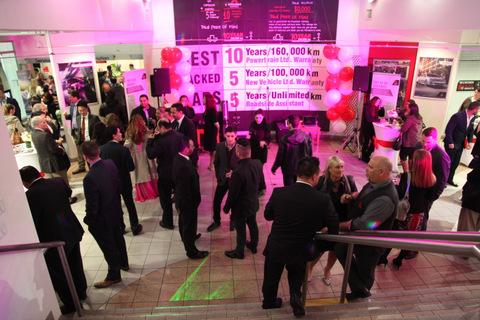 VIP's and guests, Surrey Mitsubishi Grand Opening