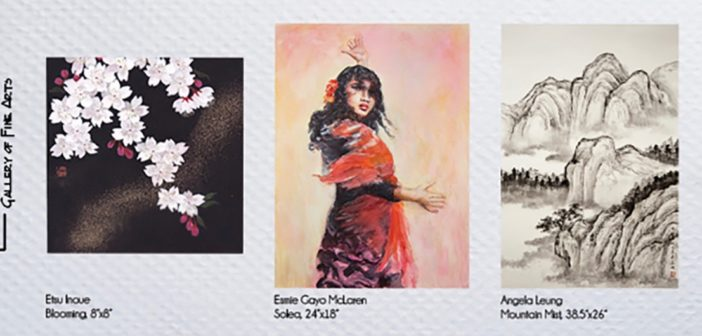 Three Asian Canadian artists present their signature watercolour styles in celebration of Canada's Asian Heritage Month