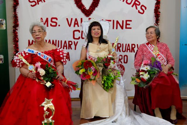Ms. Valentine Cora Tomas,  Ms. January Juanita Lamothe, Ms. March Amparo Mandrique.