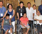 Wheelchairs bring smiles to Asingan residents