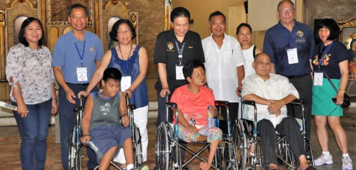 Wheelchairs bring smiles to Asingan residents