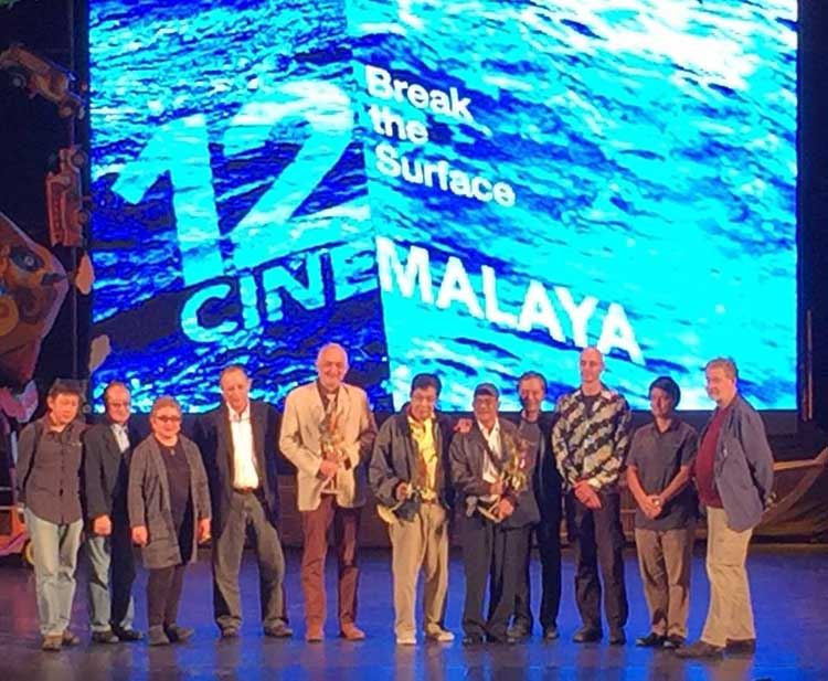 HIBLANG ABO wins Cinemalaya Best Ensemble Performance for all four lead actors, Lou Veloso, Leo Rialp, Jun Urbano and Nanding Josef.