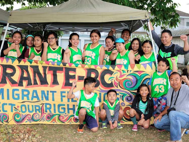 Participating team: Migrante BC Team