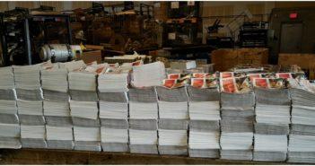 MetroVan Independent Newspaper bunches.