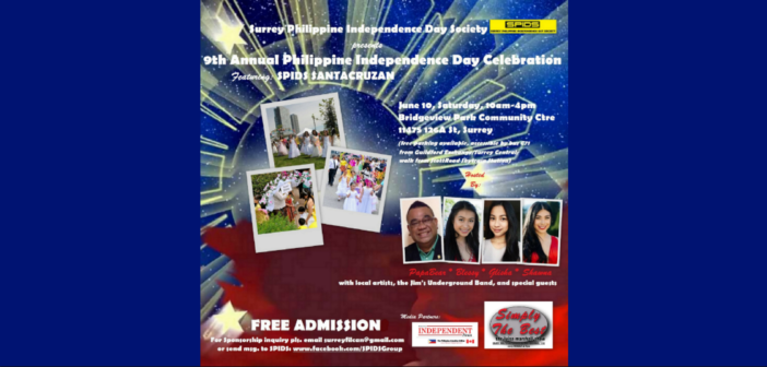 SPIDS 9th Annual Philippine Independence Day Celebration